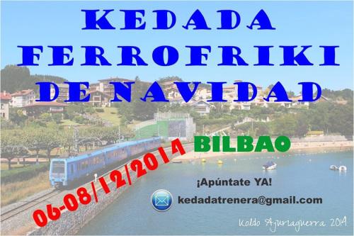 Quedada Ferrofriki los días 6, 7 y 8 de diciembre en Bilbao