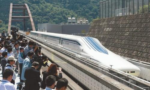 El tren bala japonés Maglev L0, el más rápido del mundo