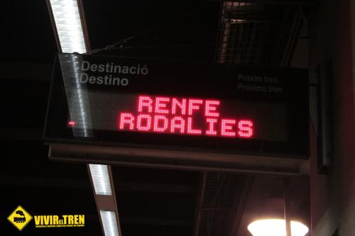 Rodalies Cataluña mantendrá su oferta durante las navidades