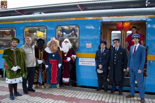 La Asociación de Amigos del Ferrocarril de Madrid pone en marcha el Tren de los Reyes Magos