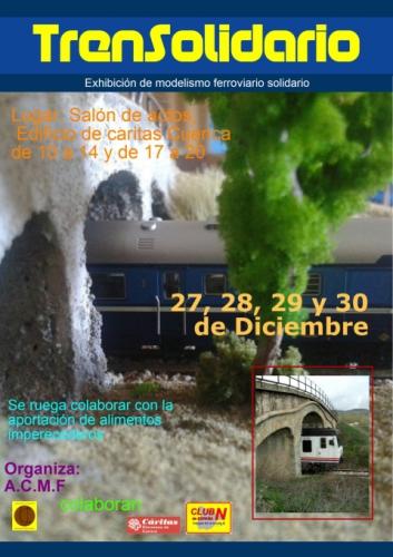 Exhibición de modelismo ferroviario solidario en Cuenca