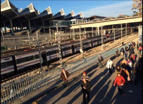 Desalojada la estación de Atocha por amenaza de bomba