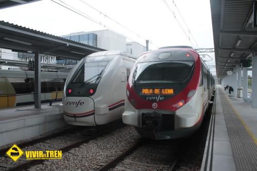 Suspendida la circulación de trenes entre Asturias y León los días 4 y 5 de febrero