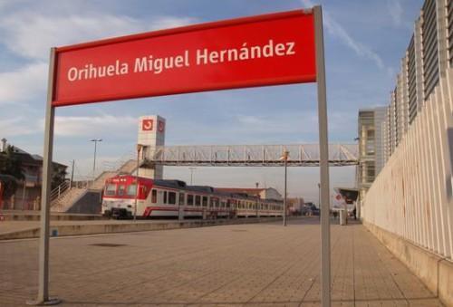 Modificaciones por obras los trenes de Media Distancia y Cercanías en Murcia