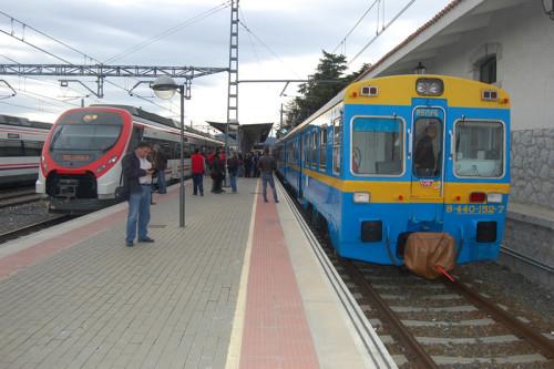 El 19 de marzo, fiesta de San José y Día del Padre, tren histórico Madrid Chamartín – Ávila