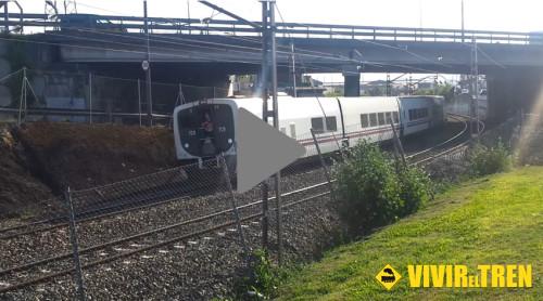 Vídeo maniobra TrenHotel en la estación de Gijón