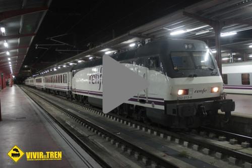 Vídeo salida Tren Estrella Costa Brava de la estación de Madrid Chamartín