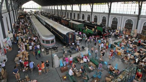 Vuelve el Mercado de Motores al Museo del Ferrocarril de Madrid