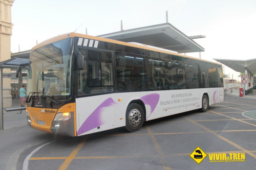 Autobús Valencia Renfe tren
