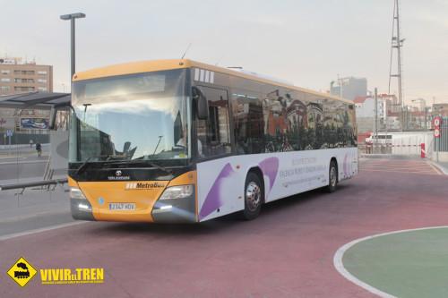 Autobus Renfe AVE Valencia