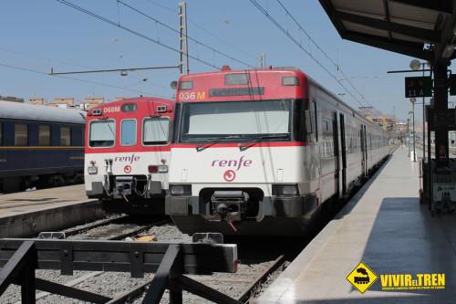 Tren Renfe Hogueras San Juan