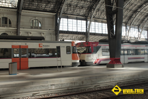 Tren Rodalies verano R1