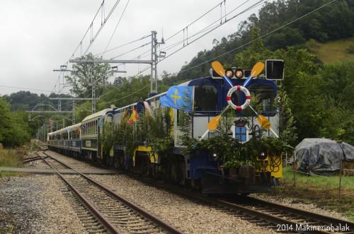 El Tren de las Piraguas circulará el 8 de Agosto entre Oviedo, Arriondas y Ribadesella