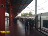 AVE S-112 inaugural Palencia Leon