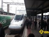 Inauguración AVE estación Leon