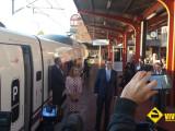 Mariano Rajoy AVE Madrid Chamartin