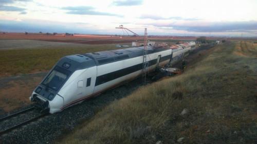 Tren Manzanares accidente