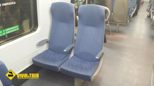 Tren Rodalies 447 remodelado