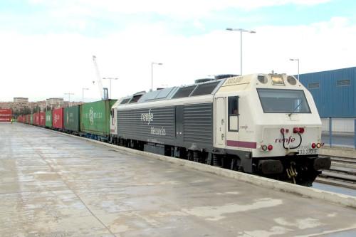 Tren mercancías Alicante