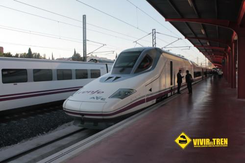 Un segundo AVE S-112 llegará a la Línea de Alta Velocidad Madrid – Palencia – León el 12 de diciembre
