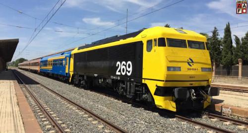 Viaje especial Madrid Chamartín – Sigüenza en el tren histórico de los 80