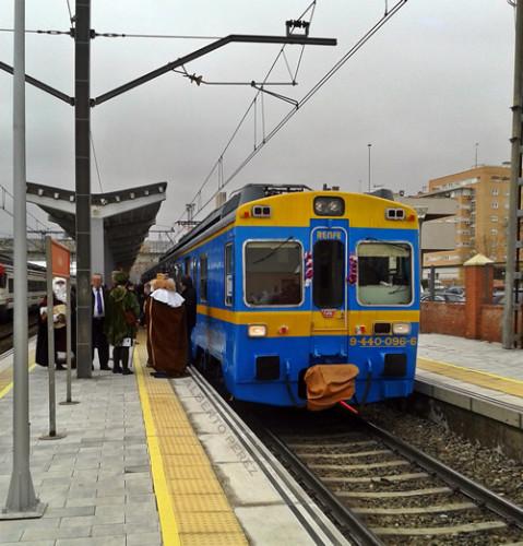 Los Reyes Magos viajarán en el tren histórico UT440.096 los días 3, 4 y 5 de enero