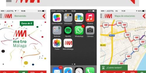 Nueva app gratuita del Metro de Málaga