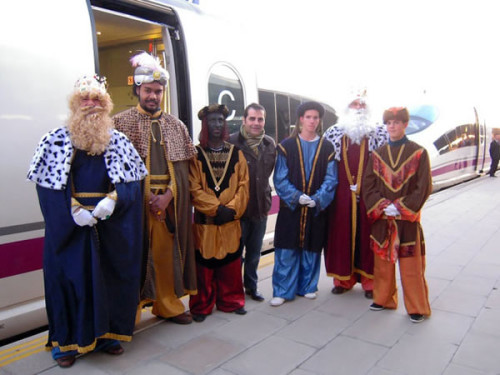 Ciudades en las que los Reyes Magos llegarán en tren el 5 de enero