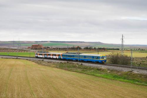 Traslado de Valladolid a Madrid de la UT 440.078 por parte de la Asociación de Amigos del Ferrocarril de Madrid