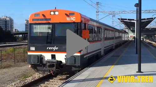 Vídeo maniobras en la estación de Gijón