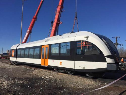 Llegan desde Suiza los nuevos trenes a la línea Lleida – La Pobla de Segur