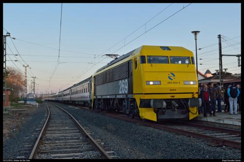 El domingo 24 de enero, tren de la nieve por la Sierra de Guadarrama