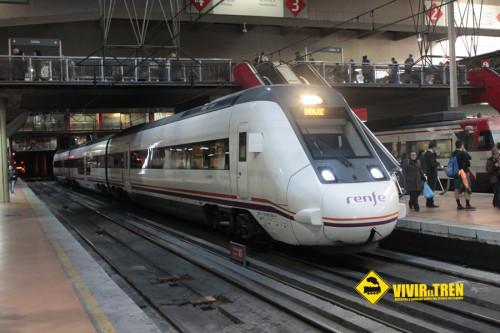 Cambios en los horarios de los trenes de Media Distancia Cáceres – Sevilla y Huelva – Jabugo