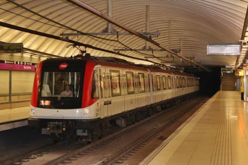 Servicios mínimos en el Metro de Barcelona durante el Mobile World Congress