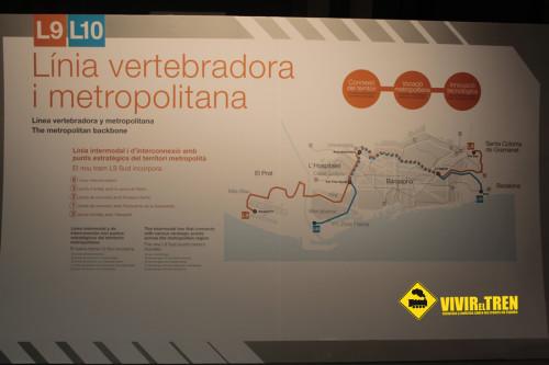 La línea 9 del metro de Barcelona se inaugurará el 12 de febrero y habrá 2 días de puerta abiertas