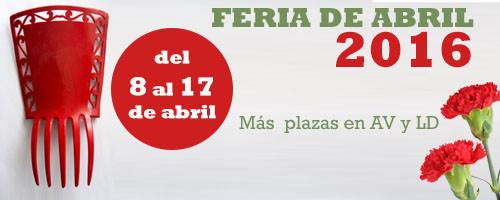 Renfe programa trenes especiales con origen/destino Sevilla durante la Feria de Abril