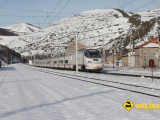 Tren ALVIA nieve Busdongo
