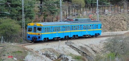 Viaje especial Madrid Chamartín – Calatayud en el tren histórico UT440.096