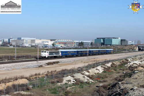 El Tren del Hidalgo circulará entre Madrid Chamartín y Alcázar de San Juan el 12 de marzo
