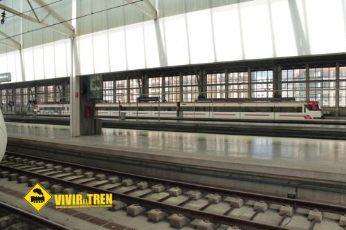Los trenes de la línea C-3 vuelven a la estación de Valencia Nord