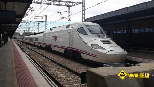 Más trenes ALVIA entre Madrid y Cádiz
