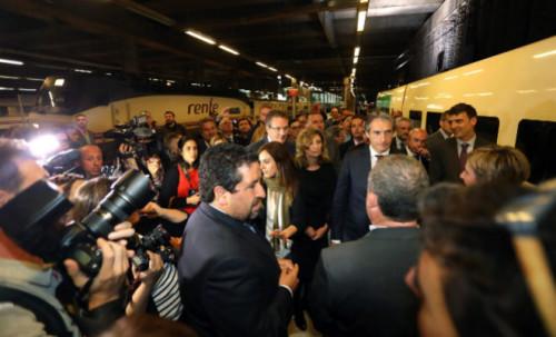 Iñigo de la Serna anuncia 4 servicios entre Madrid y Castellón por sentido