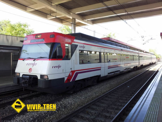 Modificaciones en los servicios ferroviarios de Cercanías de San Sebastían