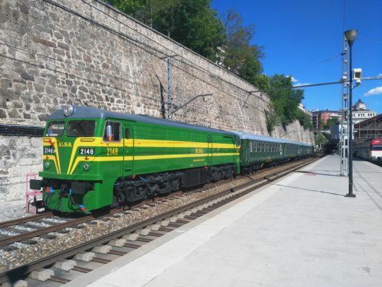 El tren turístico Felipe II echa a andar entre Madrid y El Escorial