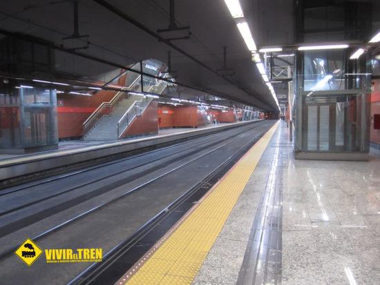 Cierre de la estación de Sol de Cercanías Madrid en agosto por obras