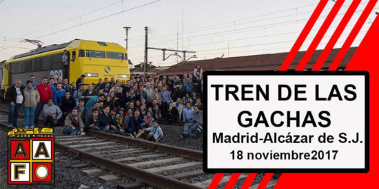 Nueva edición del Tren de la Gachas entre Madrid y Alcázar de San Juan
