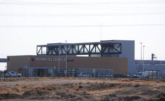 La nueva estación de Medina del Campo Alta Velocidad entra en servicio