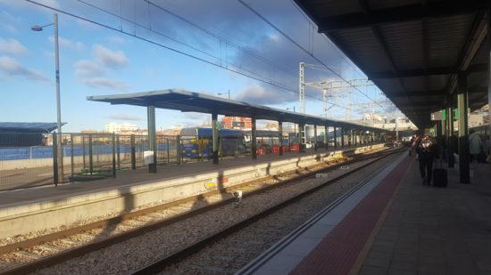 Nieve tren Asturias