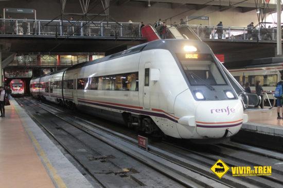 Renfe reajusta los horarios de los trenes MD en Extremadura con la llegada del nuevo servicio Talgo