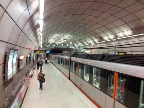 Metro Bilbao Semana Santa